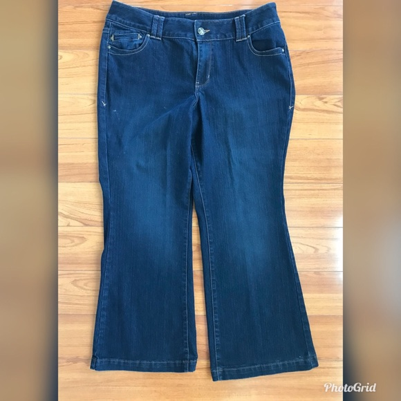 38e83a1e232 Lane Bryant wide leg jeans 16P